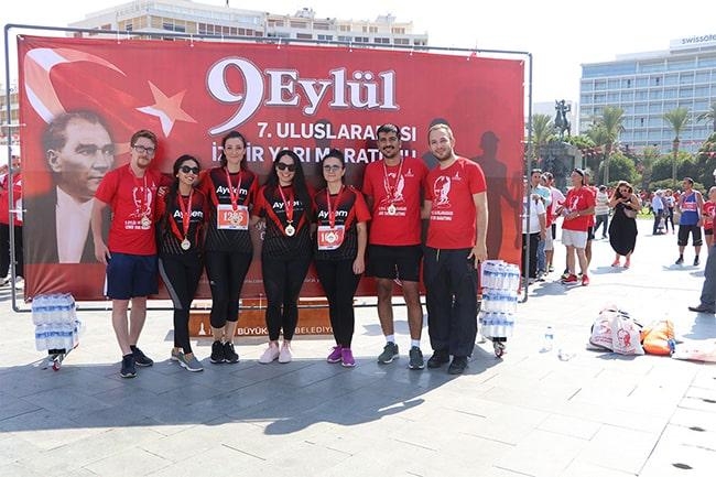 9 Eylül 7. Uluslararası İzmir Yarı Maratonunda Koştuk!