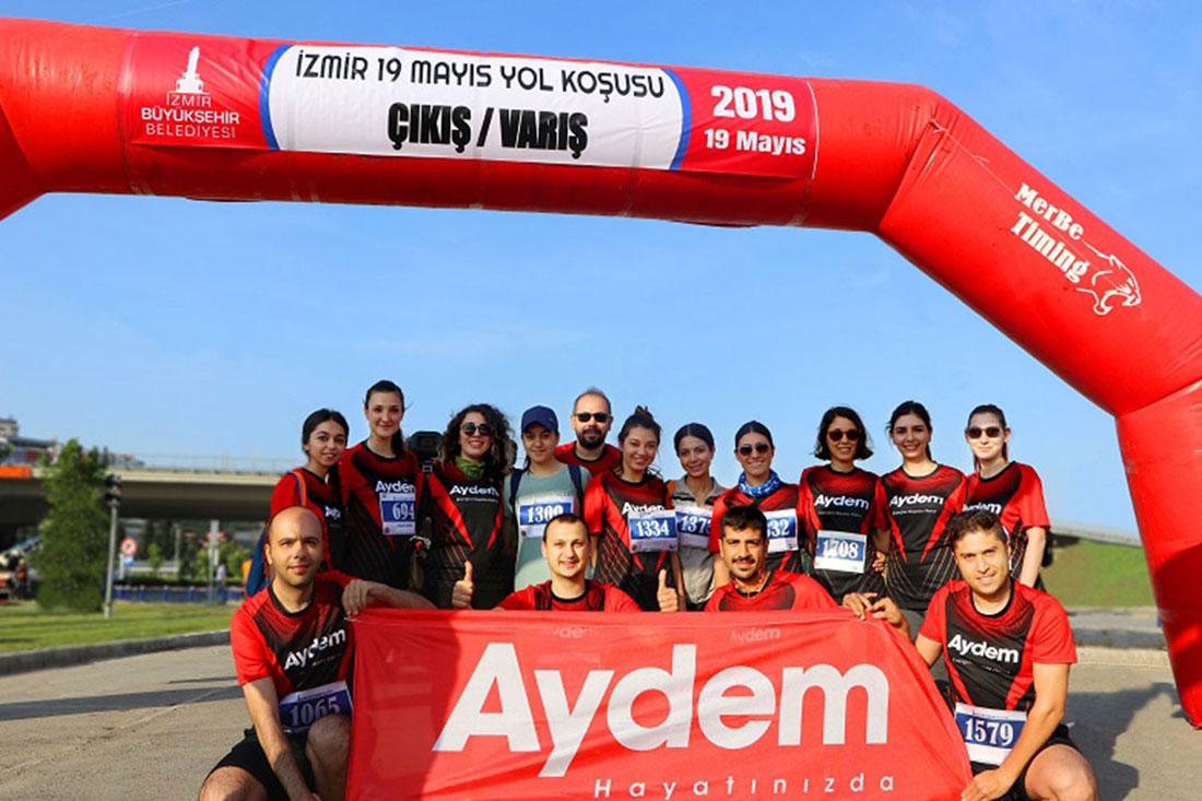 19 Mayıs Yol Koşusu'nda Koşarak Enerjimizi Hayata Harcadık!